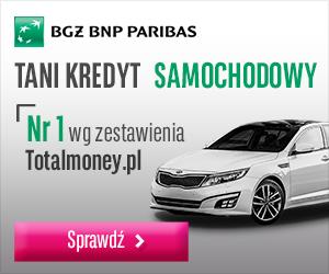 BGŻ BNP Paribas - Kredyt Samochodowy Nr 1