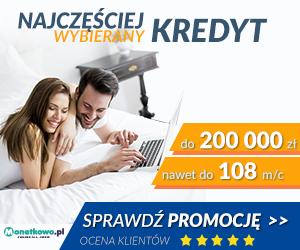 Monetkowo.pl - Najczęściej wybierany kredyt