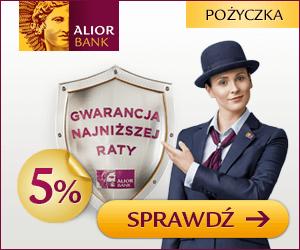 Alior Bank - Kredyt gotówkowy na 5%