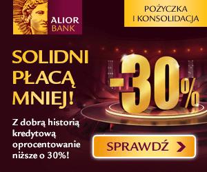 Alior Bank - Solidni płacą mniej!
